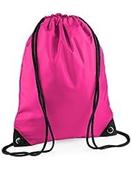 Bagbase BG10 - Bolsa de gimnasio premium - Talla única, Fucsia