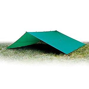 41yqwRFTJ1L. SS300  - Aqua Quest Guide Tarp - 100% Waterproof Ultralight RipStop SilNylon Backpacking Rain Fly - 3x2, 3x3, 4x3, 6x4 Green or…