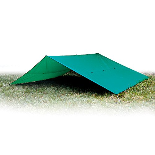 41yqwRFTJ1L. SS500  - Aqua Quest Guide Tarp - 100% Waterproof Ultralight RipStop SilNylon Backpacking Rain Fly - 3x2, 3x3, 4x3, 6x4 Green or…