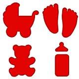 Artemio - Set di 4 perforstrici per stencil, per bambini