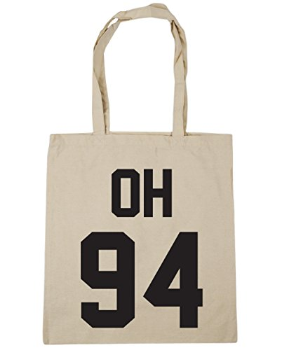 hippowarehouse-oh-94-tote-shopping-gym-beach-bag-42cm-x38cm-10-litres