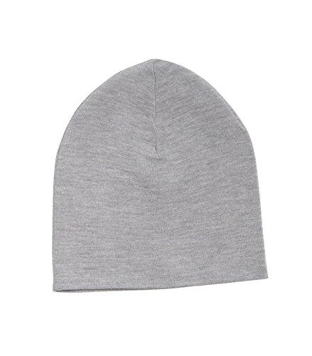 filippa-k-berretto-in-maglia-basic-donna-1451-li-grey-mel-taglia-unica