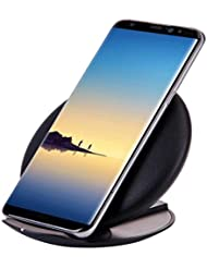Hunpta Qi Fast Wireless Ladegerät Rapid Ladestation für Samsung Galaxy Note 8 / S8 / S8 Plus