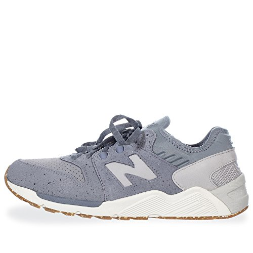 SNEAKER NB 009 SPECKLE SUEDE IN PELLE SCAMOSCIATA Gris