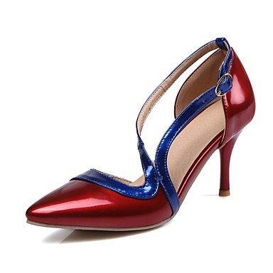 Zormey Frauen Heels Frühling Sommer Club Schuhe Komfort Neuheit Lackleder Angepasste Materialswedding Büro & Amp; Karriere Party & Amp; Abendkleid US10.5 / EU42 / UK8.5 / CN43