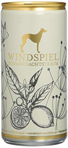 Windspiel Sommernachtstraum Bio Holunder Zitronen Limonade, EINWEG (24 x 0,2 Liter)