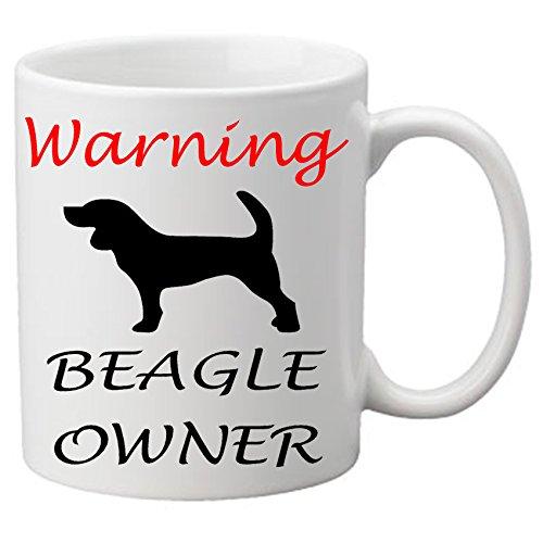 """Warnschild Beagle Eigentümer Becher, Motiv """"Hund ein tolles Lover. 11 oz Tasse."""