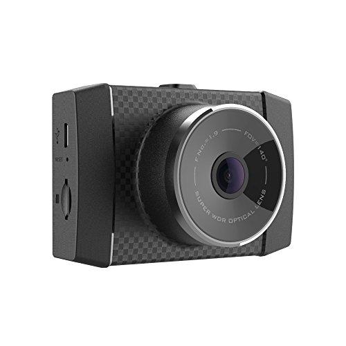 Foto Telecamera da cruscotto Yi Dash Cam, da 2,7K, con sensore G a 3 assi MEMS, controllo vocale e schermo LCD