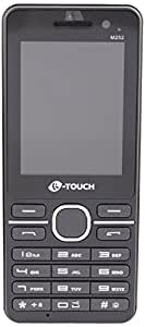K-Touch M252 Dual SIM Mobile Phone with 1.3 MP Camera and 6.1 cm Screen (Blue)