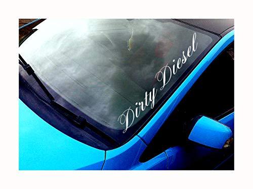 Dirty Diesel Windschutzscheibe Aufkleber Funny Race Auto Van 4x 4JDM DRIFT Fenster Lackierung Aufkleber Graphic