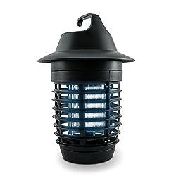 kwmobile UV Insektenvernichter 5 Watt - Insektenlampe für Mücken Fliegen Wespen und andere Insekten - Elektrische Fliegenfalle mit Stromkabel