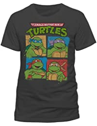Teenage Mutant Ninja Turtles - Gruppe Unisex T-Shirt - größe:L,  Grau