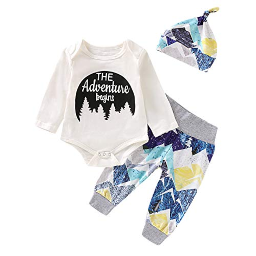 Weiß Kostüm Girl Skeleton - Winkey Kids Set, Kleinkind Kind Baby Boy Girl Brief drucken Overall Hose Hut Kostüm Set
