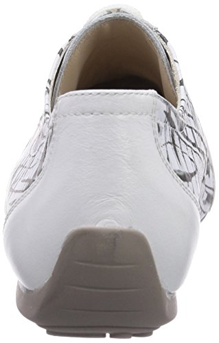 Semler Nele, Sneakers Basses Femme Mehrfarbig (736 weiss/schwarz-weiss)