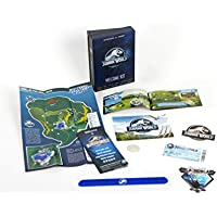Doctor Collector Jurassic World Welcome Kit - (Entrada, Mapa, Pulsera, Guia Dinosaurios...)