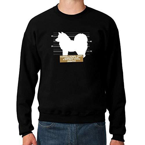 Idakoos Correctional DEPT American Eskimo Dog Sweatshirt M -