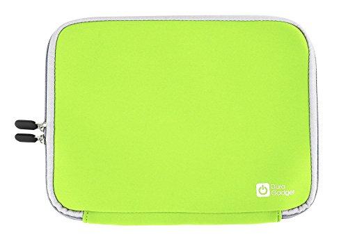 Tasche | Etui | Case | Schutzhülle in GRÜN, wasserabweisendes Neopren-Material, für Texas Instruments TI-89 Titanium, TI-84 Plus und TI-84 Plus Silver Edition grafische Taschenrechner (Rechner ist NICHT im Lieferumfang enthalten!)