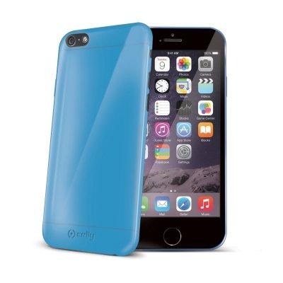 Celly Cover in TPU per iPhone 6, Azzurro Blu