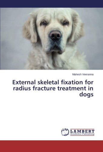 External skeletal fixation for radius fracture treatment in dogs