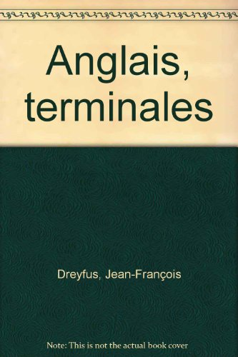 Anglais, terminales par Jean-François Dreyfus