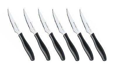Tescoma Steak Knife cm 10-6 Pcs Sonic, Assorted, 28 x 2 x 11 cm