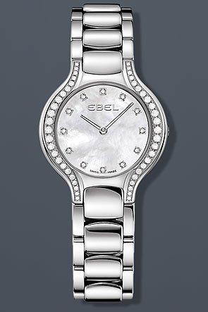 Ebel 1215870 - Reloj de pulsera mujer, acero inoxidable