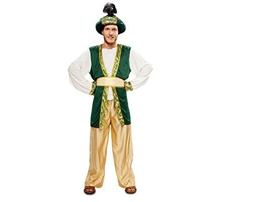 Herren-Kostüm Sultan Arabisch für in verschiedene Größen M-L