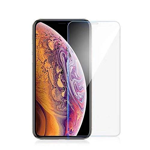 thb Richter 2 Stück / 2er-Set Handy-Displayschutzfolien für Apple iPhone XR Panzerfolie HD Transparent Schutzglas 9H-Härte Anti-Fingerprint Kratzfest Hartglasfolie Anti-Luftblasen