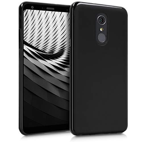 kwmobile LG Q Stylus Hülle - Handyhülle für LG Q Stylus - Handy Case in Schwarz matt Lg Handy Case