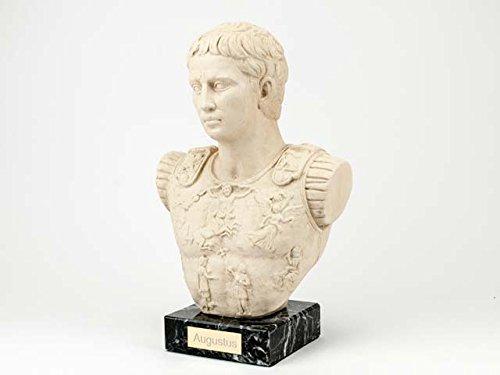 Augustus prima porta Statue - Römische Kaiser Büste - Forum Traiani - Imperator Replik (Statue Gladiator)