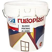 Pintura Piscinas al Agua Azul / Blanco (4L, Blanco) Envío GRATIS 24 h.