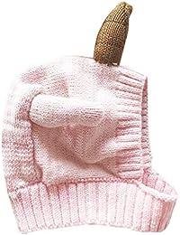 Ragazze dei neonati Carino Unicorno cappello caldo Beanie morbida Crochet  del Knit Hat Head Wrap cappelli ba485e4cb6ed