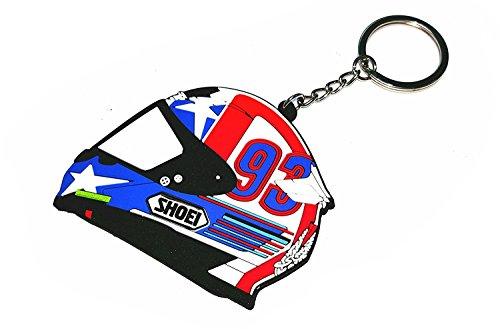 VR46 Portachiavi Marc Marquez 93 Shoei Casco MM93 Moto GP