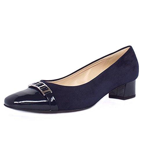 tacon-corte-zapatos-peter-kaiser-arla-mujeres-en-ante-azul-marino-y-patente-5-notte-suede