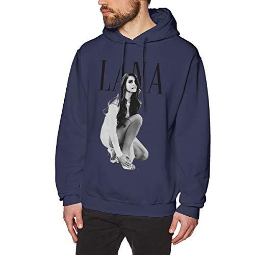 James Home Männer Lana-Del Rey (2) Pullover Hoodie Langarm Sweatshirt Hoodies für Männer Jungen Kleidung Outdoor Mantel Tops Navy S -
