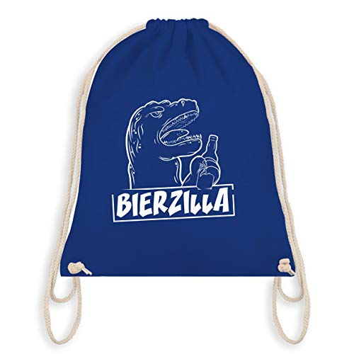 Halloween - Bierzilla - Unisize - Royalblau - WM110 - Turnbeutel & Gym Bag