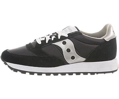 Saucony Originals - Sneaker, Donna, Nero (Schwarz), 41