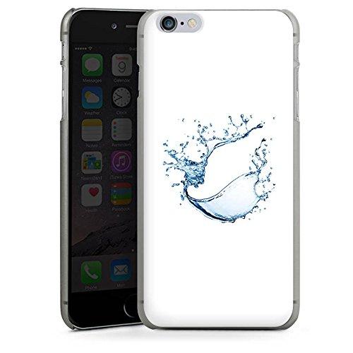 Apple iPhone 4 Housse Étui Silicone Coque Protection Eau Water Tache CasDur anthracite clair