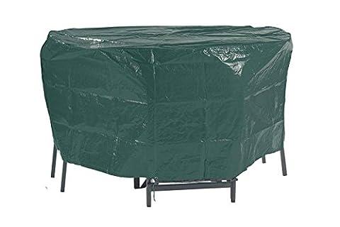 Florabest® Gartenmöbel Schutzhülle, Reißfest, wasserabweisend und UV-beständig - für Runde (Runde Gartenbank)