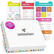 DNA Test Kit tellmeGen - 390+ rapporten - Erfelijke aandoeningen - Etniciteit (Vooroudersamenstelling) - Genet