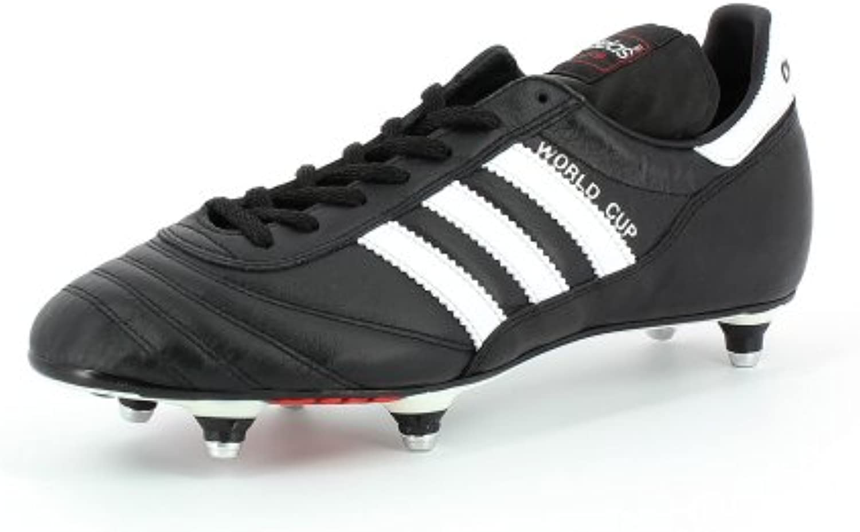 adidas Copa Mundial, botas de fútbol para hombres, 011040, Black (black/running White Ftw)