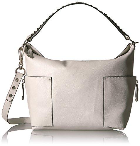 Steve Madden Damen Umhänge-Handtasche, weiß, Einheitsgröße -