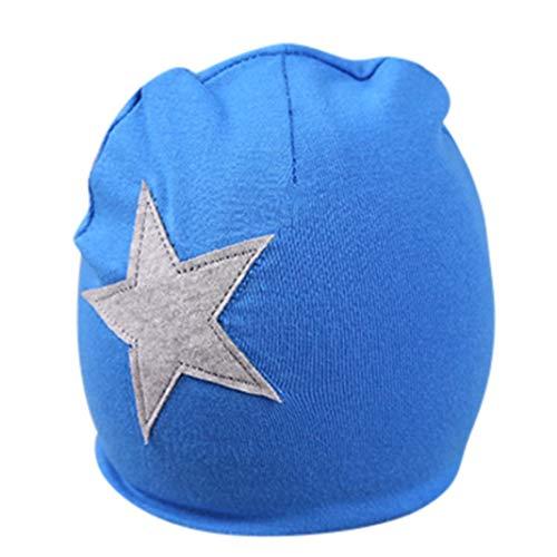 Infant Baby Hat, IMJONO Mignonne Filles Garçons Dessin animé Star Print  Sleep Cap Headwear Hat 911170d5bd6