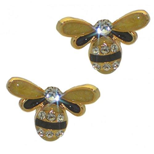 honeibee-clip-di-ape-cristallo-su-orecchini-placcato-oro
