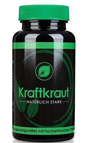 KRAFTKRAUT | TESTOSTERON - BOOSTER | Natürlich Stress und Cortisol senken | Muskelaufbau | Libido | Pflanzlich | Regeneration | 90 Kapseln hochdosiert | 100{87954585b39306bf6fc8431a3759ff78dcfd8793aca4697e84c7f40ed6f17f27} Geld-zurück-Garantie | Made in Germany