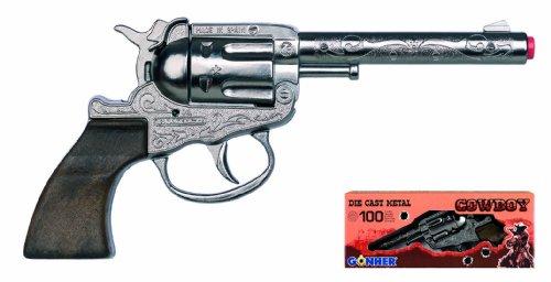 Gonher 03.09.290 – Revolver Zar 100-Schuss 18 cm - 2
