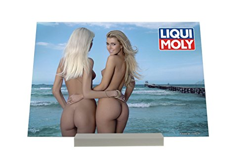 soporte-fotografias-pin-up-art-adulto-liqui-moly-chicas-sexy-en-la-playa-cartel
