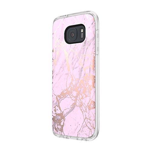 Incipio [Esquire Series] Cotton Coque de protection pour Apple iPhone 6/6S en noir Marble - pink/rose Gold