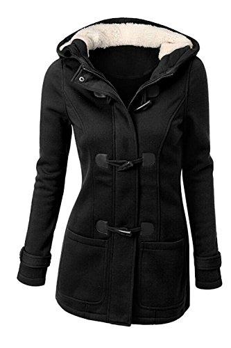 Un Bouton De L'hiver Polaire Les Plus Chaudes À La Taille Outercoats Haut De La Page Black