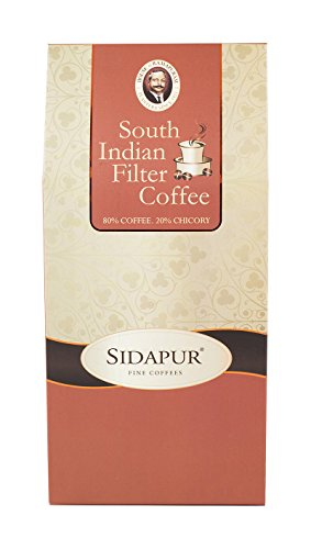 Sidapur - South Indian Filter Coffee - Roasted and Ground - Coffee 80% : Chicory 20% - 200g